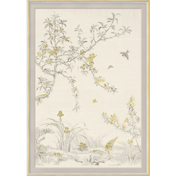 Rococo, Gold & White 1: Large