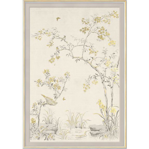 Rococo, Gold & White 2: Large