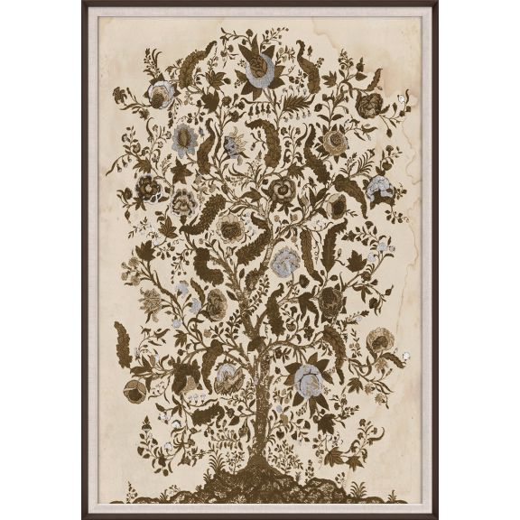 Tree of Life, Silver Leaf 1