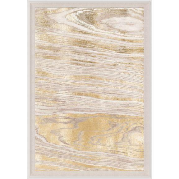 Gold Wood Grain 1